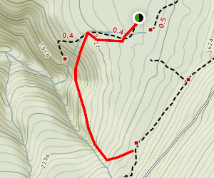 Deer Hill Trail Map