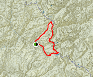 Steep Lake Loop trail Map