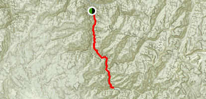 Meadow Creek Trail Map