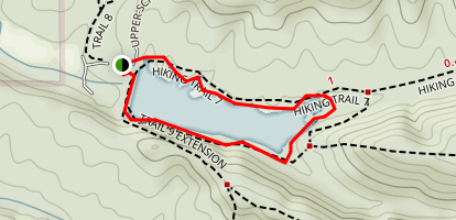 Ogle Lake Trail 7 Map