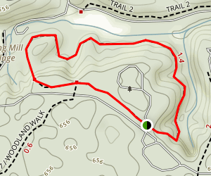 Spring Mill Village Trail Map