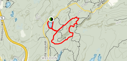Mixed Color Wheel Trail Map