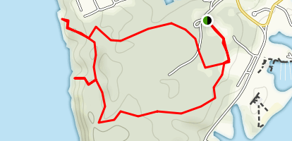 Claytor Lake Area Trails Map