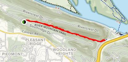 River Mountain Park Trail Map