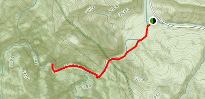 Piru Creek Trail Map