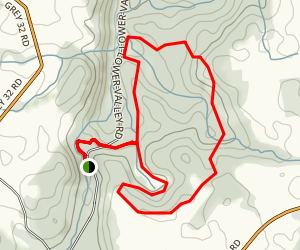 Hogg's Falls Loop Map