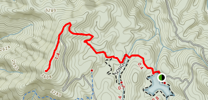 Grassy Mountain Tower Trail Map