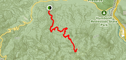 Grasshopper Mountain Trail Map