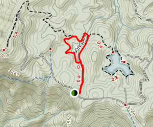 Songbird Trail Map