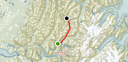 Johnson Pass Map