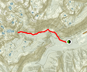 Alpine Creek Trail Map