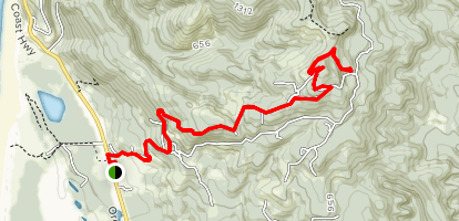 Cape Mountain Trail Map