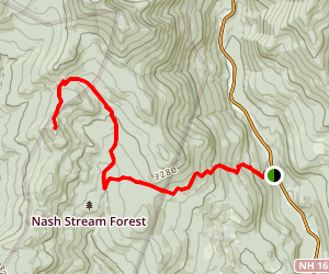 Mount Isolation Via Isolation Trail Map
