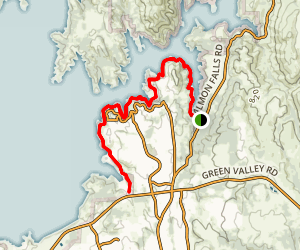 Browns Ravine South Shore Trail Map