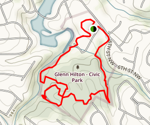 Glen C. Hilton Jr., Memorial Park Map