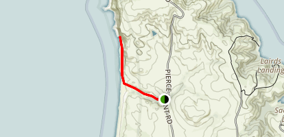 Kehoe Beach Trail Map