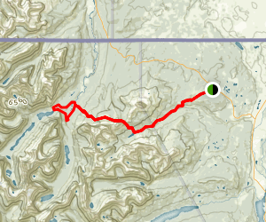 Gable Pass Trail via Otatso Creek Map