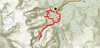 Timberline Falls Trail Map