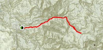 Siouxon Trail: Upper Siouxon Trailhead Map