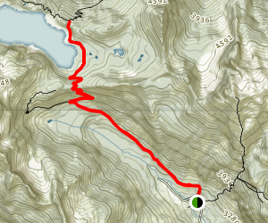 Snow Lake Trail Map