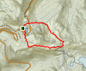 Naches Peak Loop Trail Map