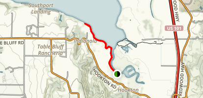 Hookton Slough Trail Map