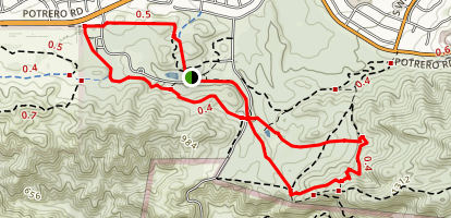 Satwiwa Loop Trail Map