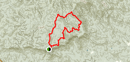 Len Foote Hike Inn Trail Map