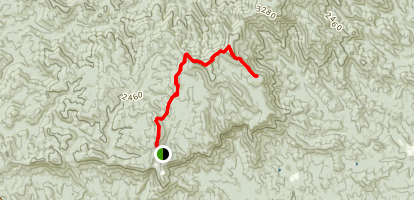 Frosty Mountain (via The Approach Trail) Map