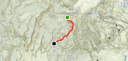 Paliza Canyon Map