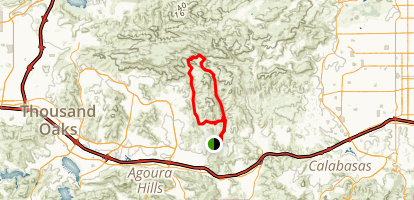Cheeseboro Canyon Trail Map