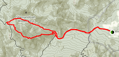 Robertson Mountain Trail Loop Map