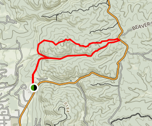 Lovell Gulch Trail Map