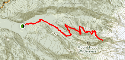 Yocum Ridge Trail Map