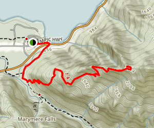 Mount Storm King Map