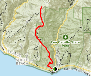 Yellow Hill Trail Map