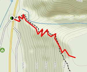 Cookstove Trail Map