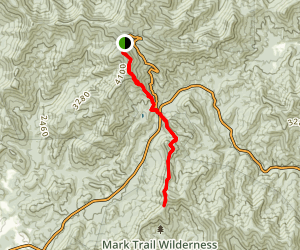 Jacks Knob Trail Map