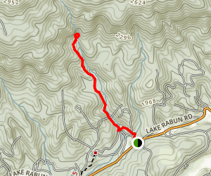 Angel Falls Trail Map