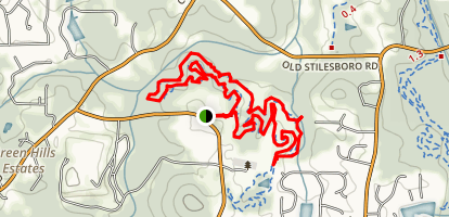 Pitner Rd Dogpark Trails Map