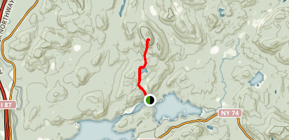 Peaked Hill Map
