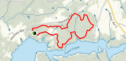 Cane Creek Park Map