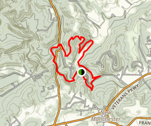 Tomlinson Run State Park Area Trails Map