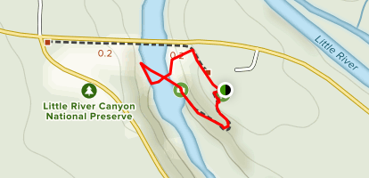 Little River Canyon Map