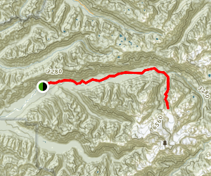 Hoh River Trail Map