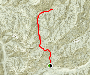 East Pass Creek Trail Map