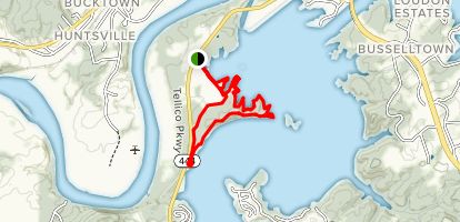 Hall Bend Trail Map