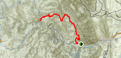 Eldorado Canyon Trail Map