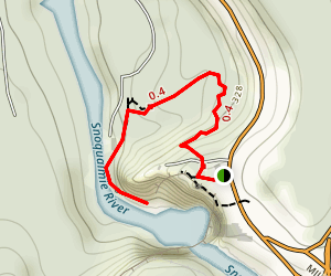 Snoqualmie Falls Trail Map