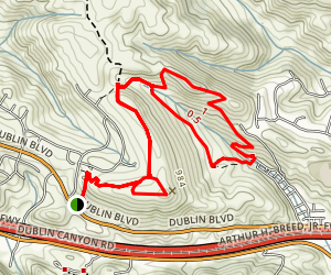 Donlan Loop Trail Map